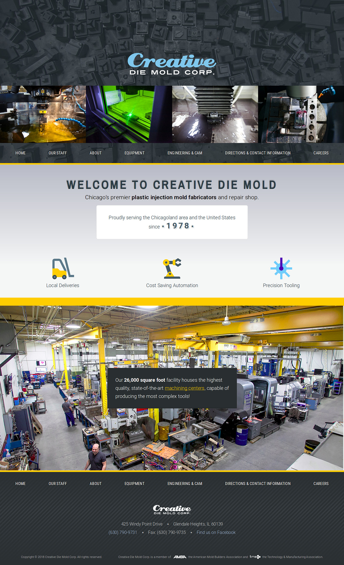Creative Die Mold Corp.